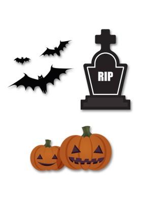 Accesorios photocall Halloween