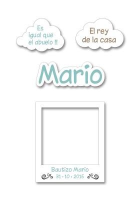Atrezzo Bautizo Mario