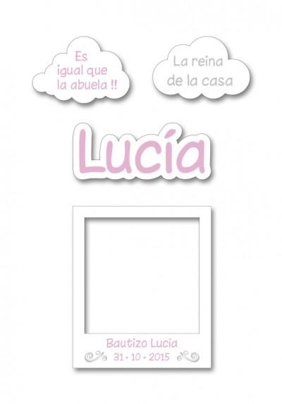 Atrezzo Bautizo Lucia