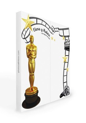 Photocall modelo Oscar 2 m.