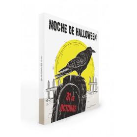 Photocall Halloween cuervo 2 m.