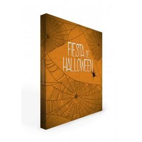 Photocall Halloween naranja 2 m.