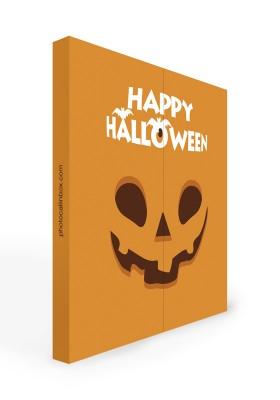 Photocall Halloween Cara Calabaza 2m